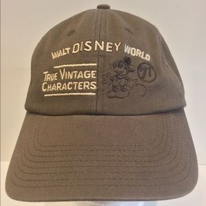 Vintage Walt Disney Characters Hat Mickey Mouse
